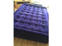 Luxury double camping matress with enclosed air pump. Camping / Glamping and Festivals