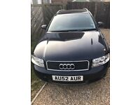 Audi A4 Avant Tdi (02) Spares or Repair - Blown turbo