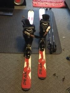 Adult Ski Set (fits man foot size 9.5/10), skis,boots and poles