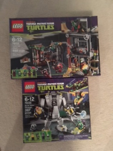 BNIB Lego Teenage Mutant Ninja Turtles Sets