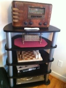 Pair Matching Stereo & TV Stand