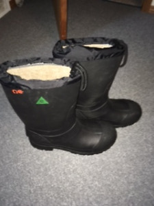 CSA Approved Insulated Steel Toe Rubber Boots - NEW