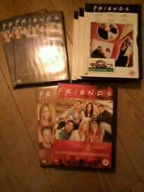 8 Friends DVDs