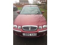 Rover 45 Impressions 1.4 5 Door Hatchback Y Reg 2001 in Red Only 35K