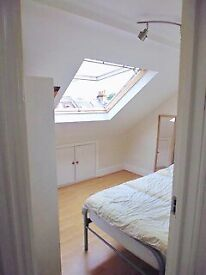 Room with single bed in Fulham flatshare
