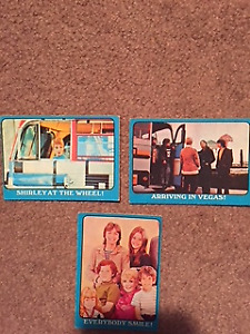 Lot of 30 1971 Partridge Family Trading Cards Blue Border