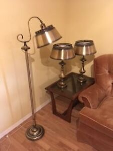 Lamp set - Floor Lamp and 2 Table Lamps
