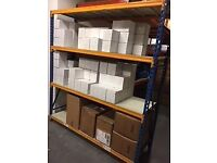 heavy duty shelving x 7