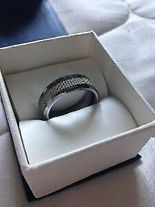 Beautiful Men's Tungsten Carbide ring and bracelet