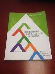 Recruitment & Selection In Canada 6th Edition $85