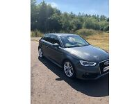 Audi A3 1.2 TFSI S line 3dr - FULL AUDI SERVICE HISTORY, MOT'D JULY 2019, MONSTER SPEC (see descrip)
