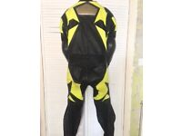 Frank Thomas one piece leather suit