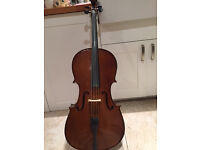 1/2 size student Stentor 2 cello