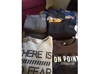 bundle of boys clothes age 9/10
