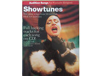 Showtune - Audition songs for female singer Vocal Score Book