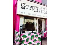 Graffitti Cafe & Bistro requires a Chef / Cook - approx 30 hrs +