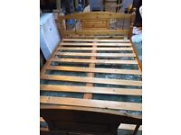 Double Pine Bed(s)