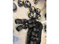 Everlast Boxing Pads & Century Gloves - New but out of original packaging