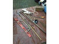 tools, various
