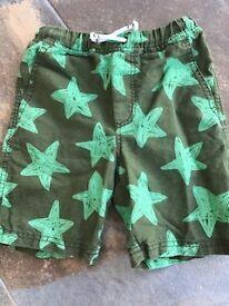 BODEN boys shorts, age 6.