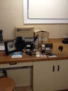 MOVIE PROJECTOR AND SUPER 8 FILM EDITOR/VIEWER Kitchener / Waterloo Kitchener Area image 2