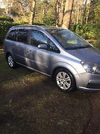Vauxhall ZAFIRA 2006 1.9 cdti 6 speed Manuel