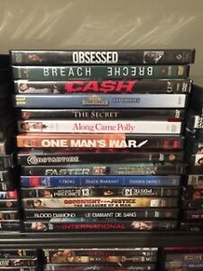 Lot of 167 dvd movies