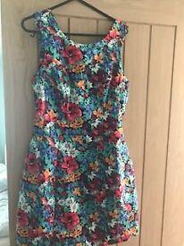 Lipsy flower dress