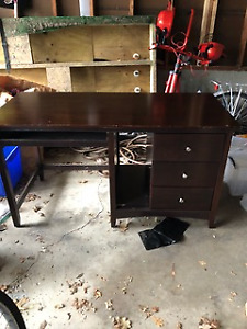 Solid wood desk for sale