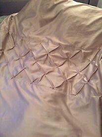 Dunelm Mill King Size Duvet set & Matching Curtains