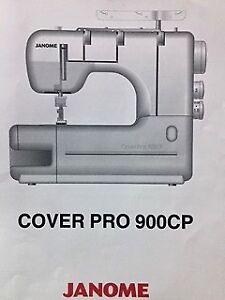 Jenome Cover Pro900CP Cover stitch sewing machine