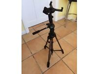 Tripod, bought New, Used Once, excellent condition, swivels, turns. £20 Great for Filming Selfies!