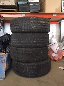"""18"""" Cooper winter tires"""