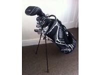 Full golf club set and bag. Nike driver, Adams Golf Adea hybrid clubs,ping putter,callaway bag