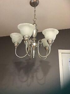 Chandelier - 5 lights - Brushed nichel
