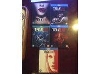true blood seasons 1-5 on Blue Ray