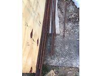 20mm steel reinforcing bar 5m length