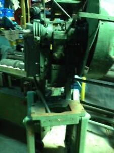 7 ton Famco OBI punch press, 3 phase
