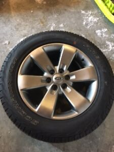 Ford 2014 F150 FX4 Tires & Rims - 275/55 R20