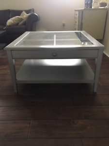 Ikea Liatorp Coffee table and 2 Liatorp end tables