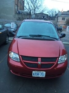 2006 Dodge Caravan red FOR SALE GREAT CONDITION DVD PLAYER