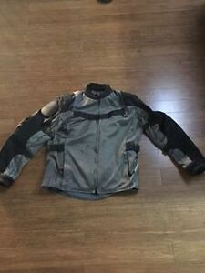 Men's Armoured Motorcycle Jacket - Barely worn
