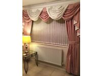 Professionally made curtains £80