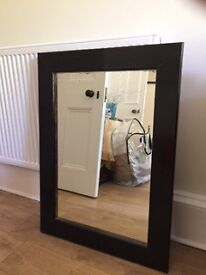 Mirror approx 70 x 80 cm good condition free for collection
