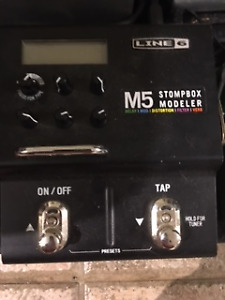 Line 6 M5 and TC Flashback