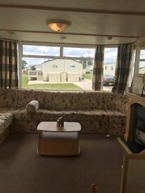 3 Bedroom Family caravan for sale, sited on Coopers Beach, Mersea Island, * REDUCED SITE FEES *