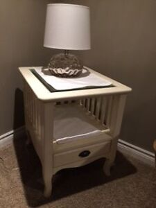 Side table - cream
