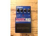 DigiTech Screamin' Blues Overdrive/Distortion pedal.