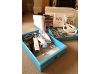 Nintendo Wii console and controls