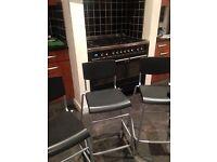 x3 IKEA bar stools